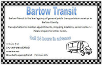 Bartow Transit Services!